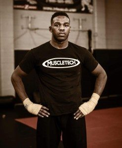 Jon Jones training